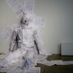 Plastered. NotReadyYet Project with Willem Wilhelmus, Jangva Gallery, Finland, 2012, photo: Liina Kuittinen