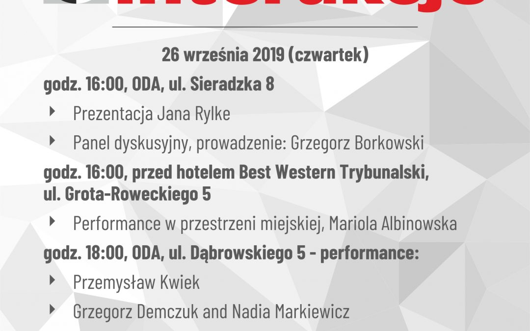 III Day of  Interakcje Festival 2019