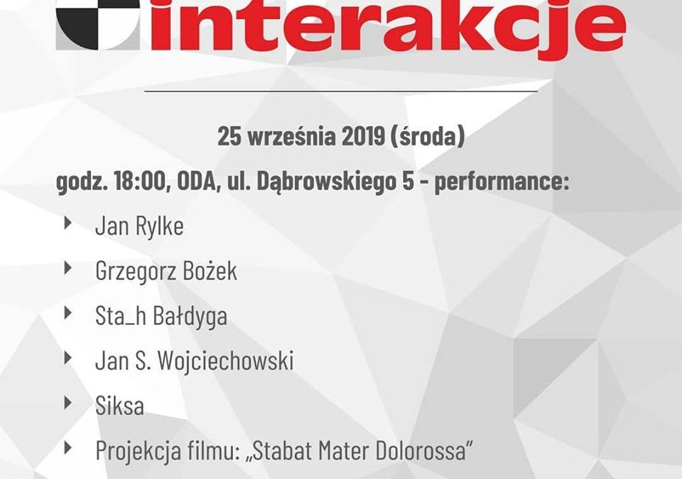 II Day of Interakcje Festival 2019