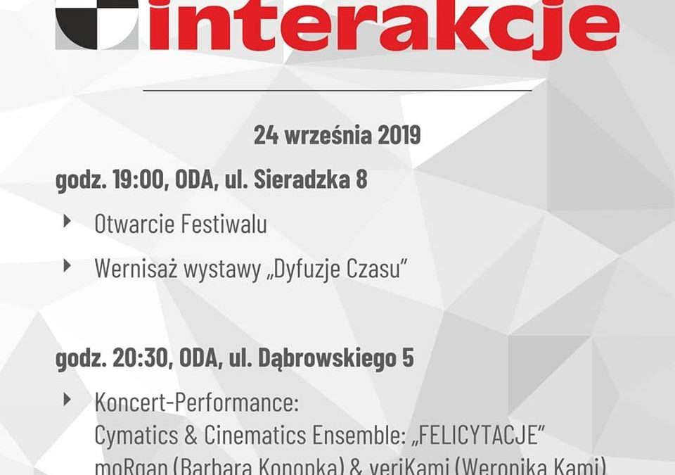 1st day of Interactions Festival 2019